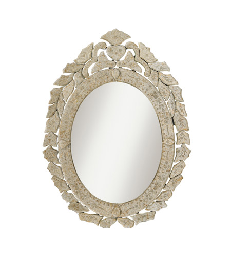 Kichler 78119 Petite Oval 28 X 21 inch Antique Gold Wall Mirror Home Decor, Oval photo