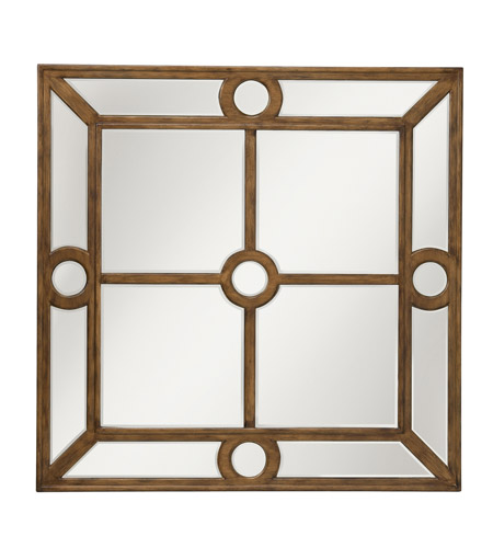 Kichler 78122 Elara 40 X 40 inch Antique Silver Mirror Home Decor, Square photo