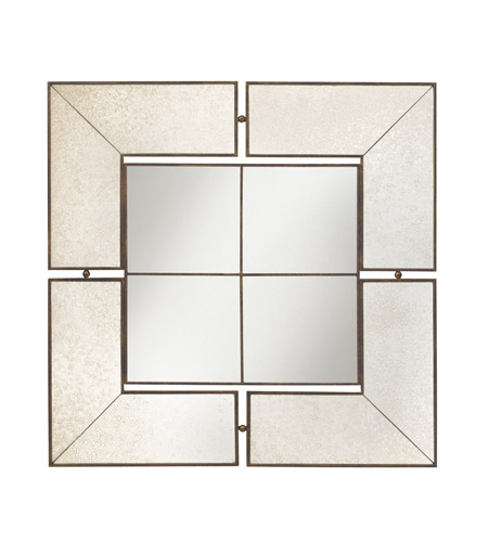 Kichler 78130 Glenn 30 X 30 inch Antique Mirror Mirror Home Decor, Square photo