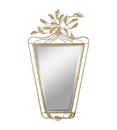 Kichler Lighting Foglia Mirror in Antique Silver 78136 photo