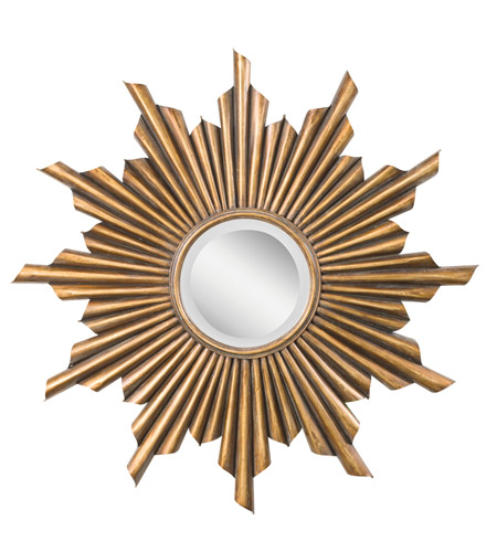 Kichler Lighting Burst Mirror in Antique Gold 78137