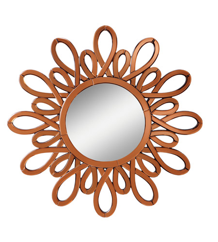 Kichler 78145 Spice 40 X 40 inch Clear Wall Mirror, Circular photo