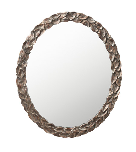 Kichler 78154 Signature 42 X 32 inch Silver Various Wall Mirror, Oval photo