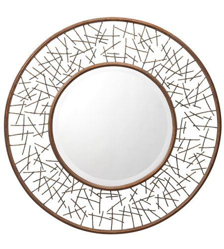 Kichler 78170 Twigs 39 X 39 inch Painted Metal Mirror Home Decor, Circular photo