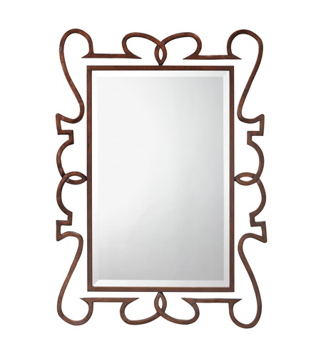 Kichler 78173 Clancy 47 X 34 inch Painted Metal Wall Mirror, Rectangular photo