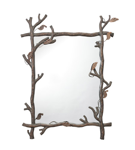 Kichler Lighting Westwood Catskill Mirror in Painted Metal 78174 photo