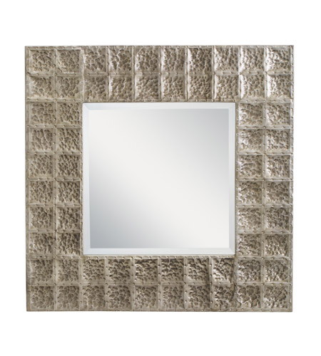 Kichler 78192AP Missoula 28 X 28 inch Antique Pewter Wall Mirror Home Decor, Square photo