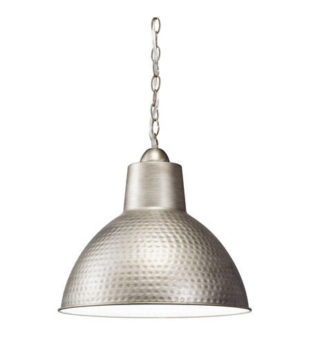 Kichler Westwood Missoula 1 Light Pendant in Antique Pewter 78200AP photo