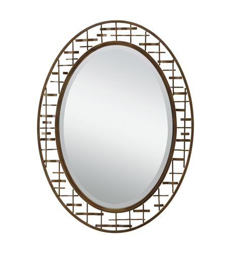 Kichler Westwood Loom Mirror in Olde Bronze 78248 photo
