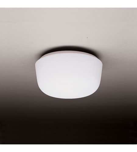 Kichler Lighting Ceiling Space 2 Light Flush Mount in White 8010WH