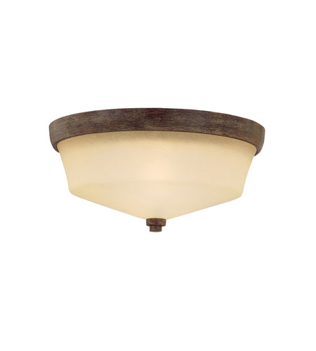 Kichler Lighting Langford 2 Light Flush Mount in Canyon Slate 8044CST photo
