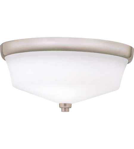 Kichler 8044NI Langford 2 Light 13 inch Brushed Nickel Flush Mount Ceiling Light photo