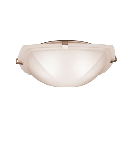Kichler Lighting Signature 2 Light Flush Mount in Brushed Nickel 8084NI photo