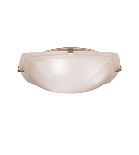 Kichler Lighting Signature 3 Light Flush Mount in Brushed Nickel 8085NI photo