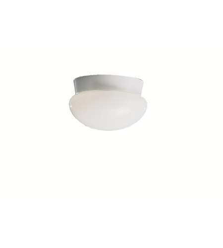 Kichler Lighting Ceiling Space 1 Light Flush Mount in White 8101WH