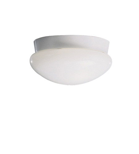 Kichler 8102WH Ceiling Space 2 Light 9 inch White Flush Mount Ceiling Light in Standard photo