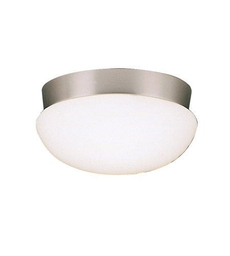 Kichler Lighting Ceiling Space 3 Light Flush Mount in Brushed Nickel 8103NI