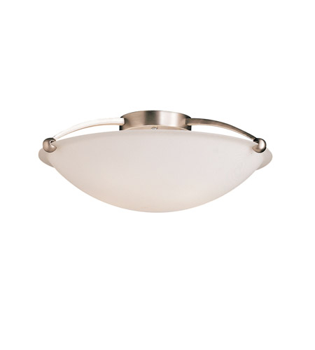 Kichler Lighting Signature 5 Light Semi-Flush in Brushed Nickel 8407NI
