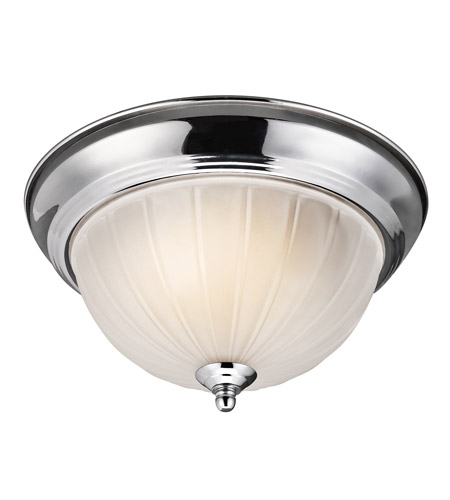 Kichler Lighting Signature 2 Light Flush Mount in Chrome 8653CH photo