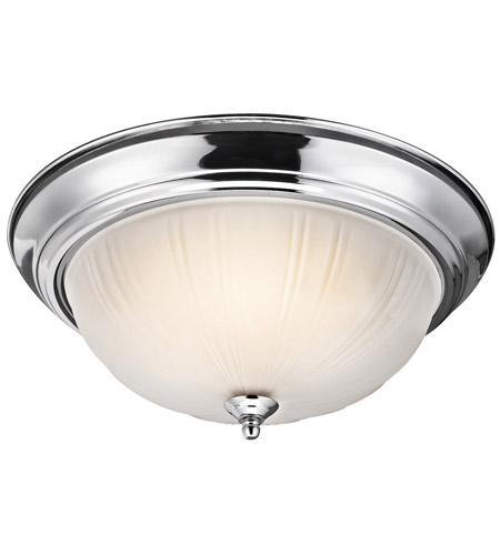 Kichler Lighting Signature 3 Light Flush Mount in Chrome 8655CH photo