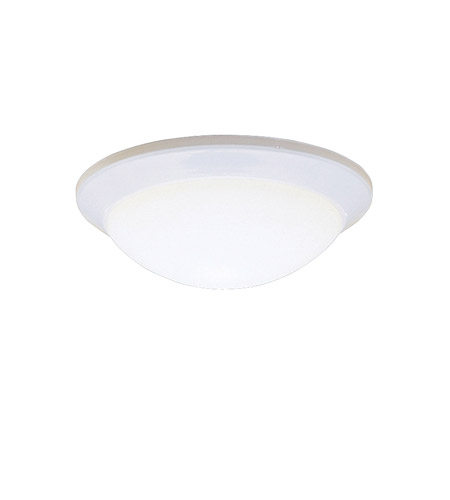Kichler Lighting Ceiling Space 1 Light Flush Mount in White 8881WH