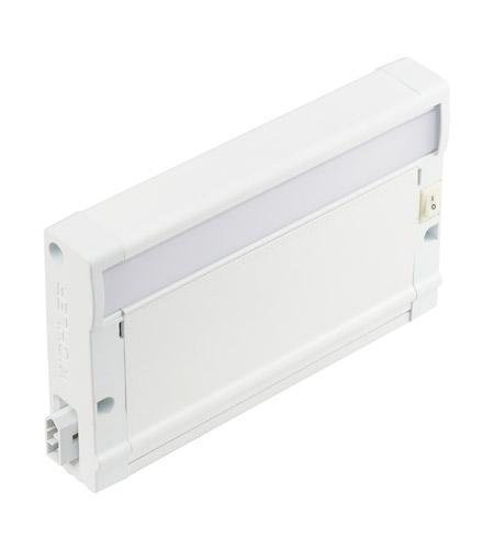 Superb Kichler 8U27KM07WHT 8U Series 7 Inch Textured White LED Under Cabinet  Lighting In 2700K
