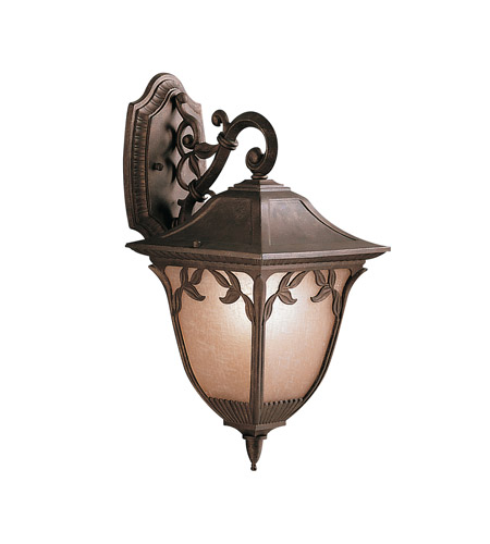 Kichler Lighting Lynnewood Gardens 1 Light Outdoor Wall Lantern in Legacy Bronze 9011LZ