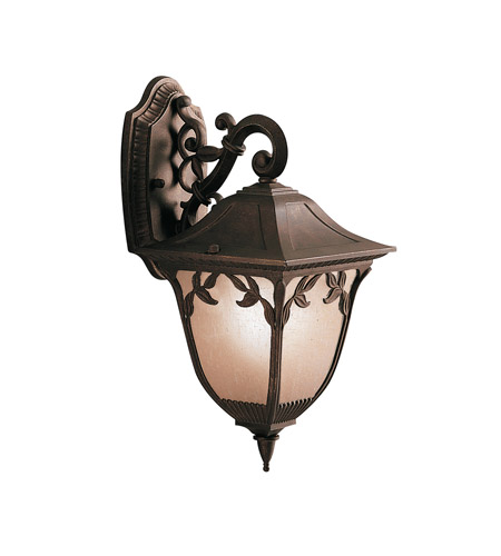Kichler Lighting Lynnewood Gardens 1 Light Outdoor Wall Lantern in Legacy Bronze 9013LZ