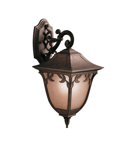 Kichler Lighting Lynnewood Gardens 1 Light Outdoor Wall Lantern in Legacy Bronze 9015LZ