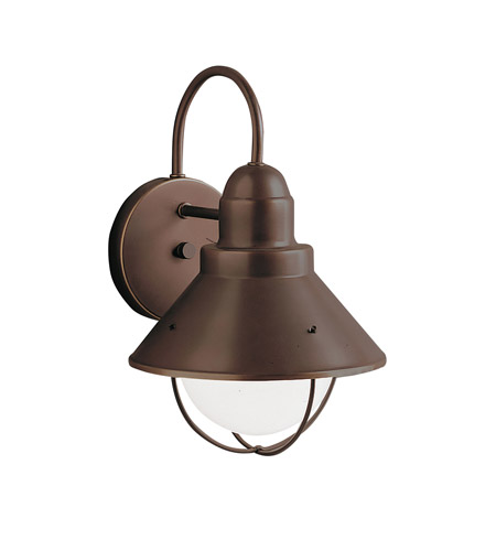 Kichler 9022OZ Seaside 1 Light 12 inch Olde Bronze Outdoor Wall Lantern photo