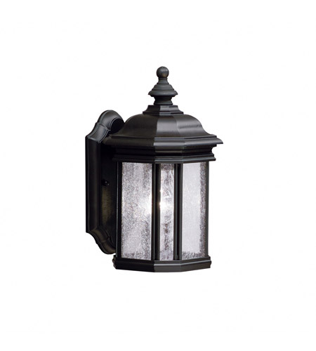 Kichler 9028BK Kirkwood 1 Light 13 inch Black Outdoor Wall Lantern photo