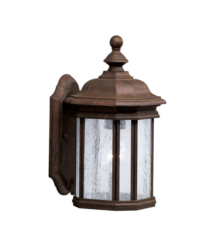 Kichler Lighting Kirkwood 1 Light Outdoor Wall Lantern in Tannery Bronze 9028TZ photo