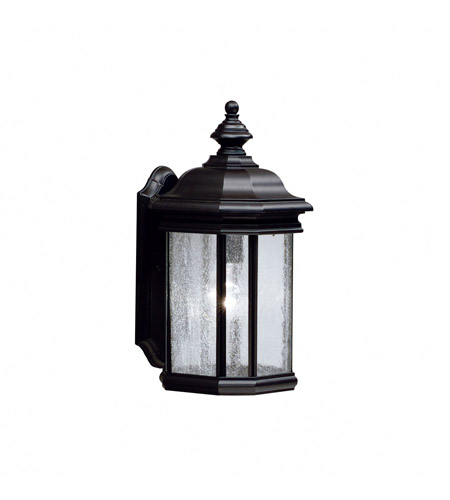 Kichler Lighting Kirkwood 1 Light Outdoor Wall Lantern in Black 9029BK