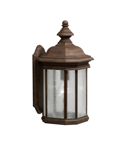 Kichler Lighting Kirkwood 1 Light Outdoor Wall Lantern in Tannery Bronze 9029TZ