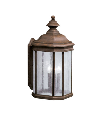 Kichler 9030TZ Kirkwood 3 Light 21 inch Tannery Bronze Outdoor Wall Lantern photo