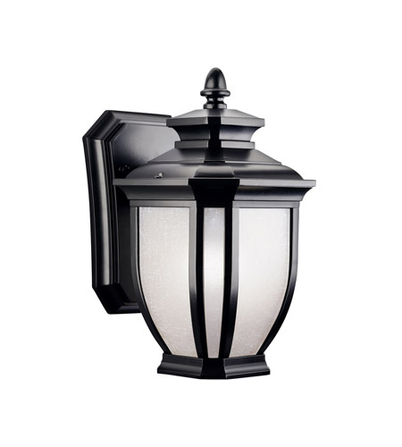 Kichler 9039BK Salisbury 1 Light 10 inch Black Outdoor Wall Lantern photo