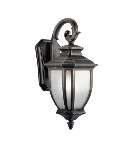 Kichler 9040RZ Salisbury 1 Light 19 inch Rubbed Bronze Outdoor Wall Lantern photo