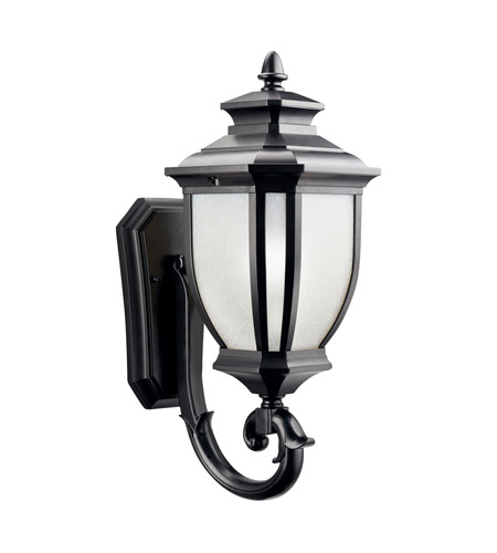 Kichler 9041BK Salisbury 1 Light 19 inch Black Outdoor Wall Lantern  photo