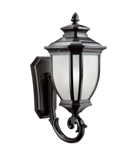 Kichler Lighting Salisbury 1 Light Outdoor Wall Lantern in Black 9042BK photo