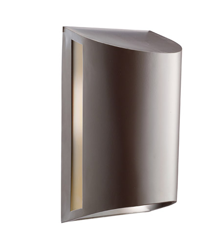 Kichler Lighting Signature 1 Light Outdoor Wall Lantern in Architectural Bronze 9095AZ photo