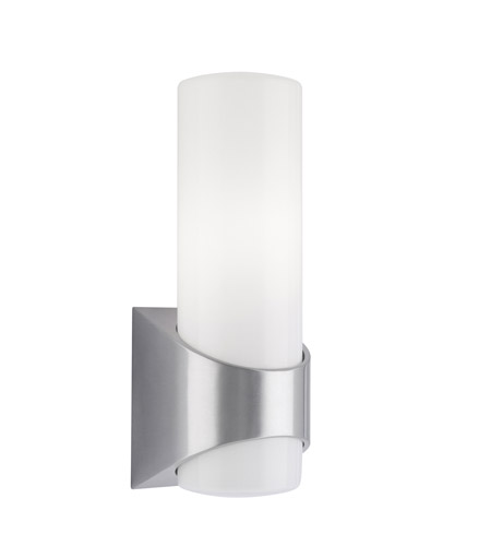 Kichler Lighting Celino 1 Light Outdoor Wall Lantern in Brushed Aluminum 9109BA