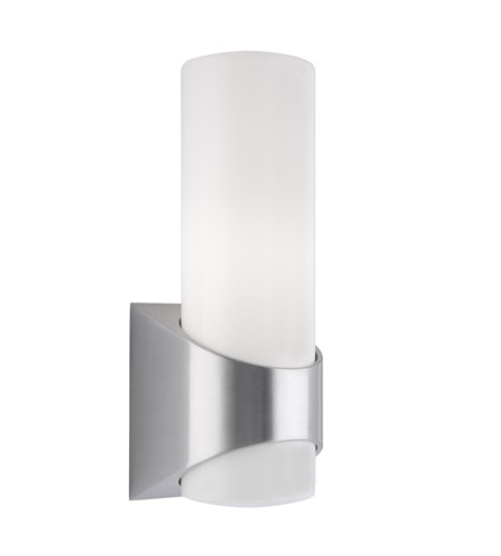 Kichler Lighting Celino 1 Light Outdoor Wall Lantern in Brushed Aluminum 9110BA