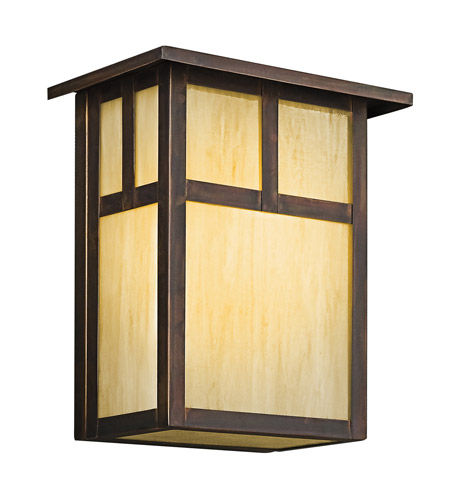 Kichler Lighting Alameda 1 Light Outdoor Wall Lantern in Canyon View 9147CV photo