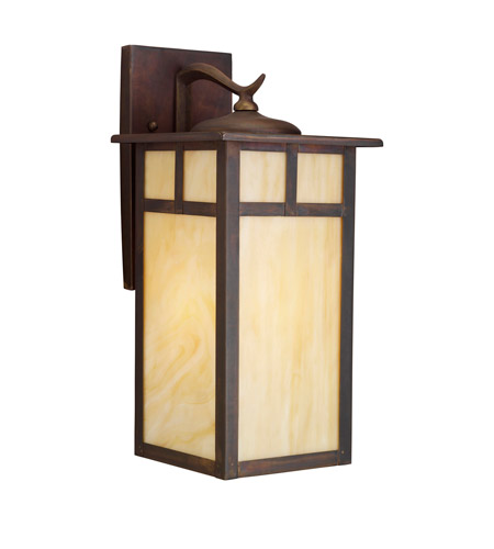 Kichler 9148CV Alameda 1 Light 15 inch Canyon View Outdoor Wall Lantern photo
