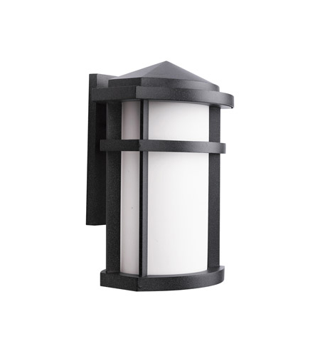 Kichler Lighting Lantana 1 Light Outdoor Wall Lantern in Textured Granite 9167GNT
