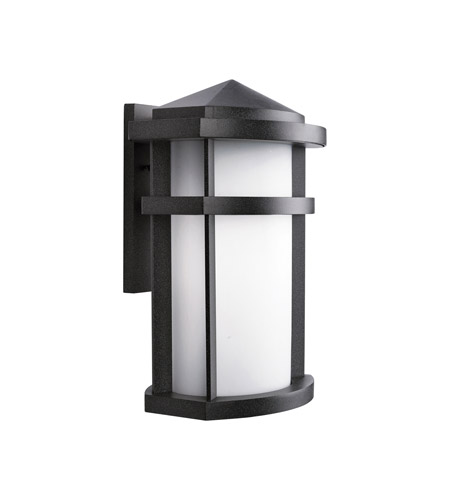 Kichler Lighting Lantana 1 Light Outdoor Wall Lantern in Textured Granite 9168GNT