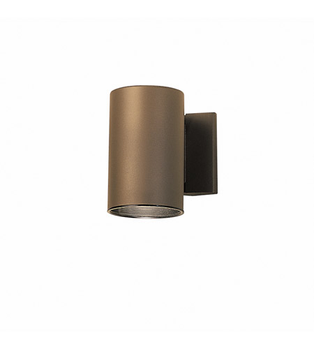 Kichler Lighting Signature 1 Light Outdoor Wall Lantern in Architectural Bronze 9234AZ