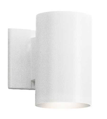 Kichler Lighting Signature 1 Light Outdoor Wall Lantern in White 9234WH