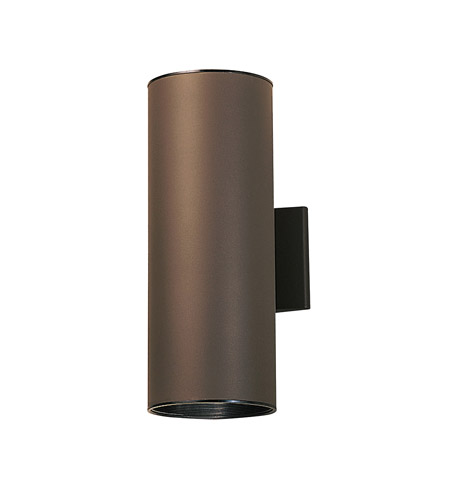 Kichler 9246AZ Signature 2 Light 6 Inch Architectural Bronze Wall Sconce  Wall Light