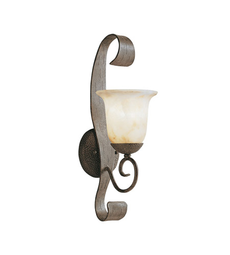 Kichler Lighting High Country 1 Light Outdoor Wall Lantern in Old Iron 9273OI